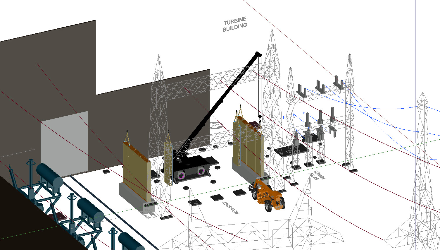 Projects Critical Systems Ga Power Transformer Wiring Diagram See Pictures Of One Our Recent Nuclear Design Build And Install Mfbbs Separation Barriers To Support Cooper Stations New
