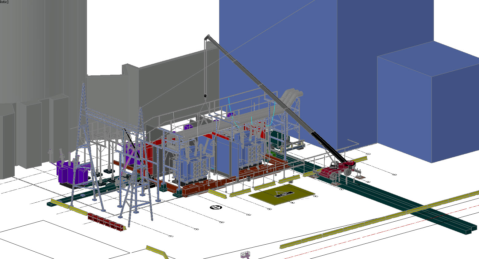 Projects Critical Systems Nuclear Power Plant Diagram Animation See Pictures Of One Our Recent Extension The Existing Fire Separation Barriers To Accommodate New Main Transformers At